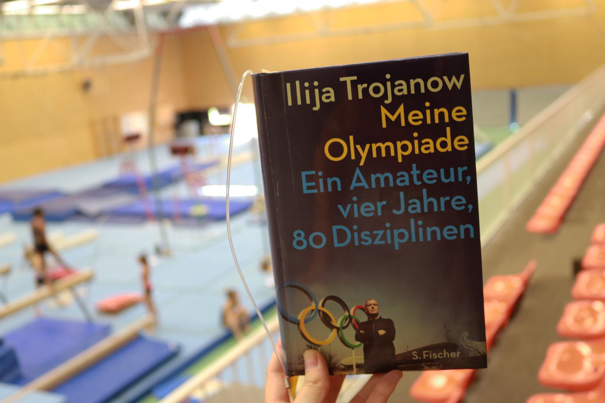 """""""Meine Olympia"""" bei einer solchen Kulisse"""