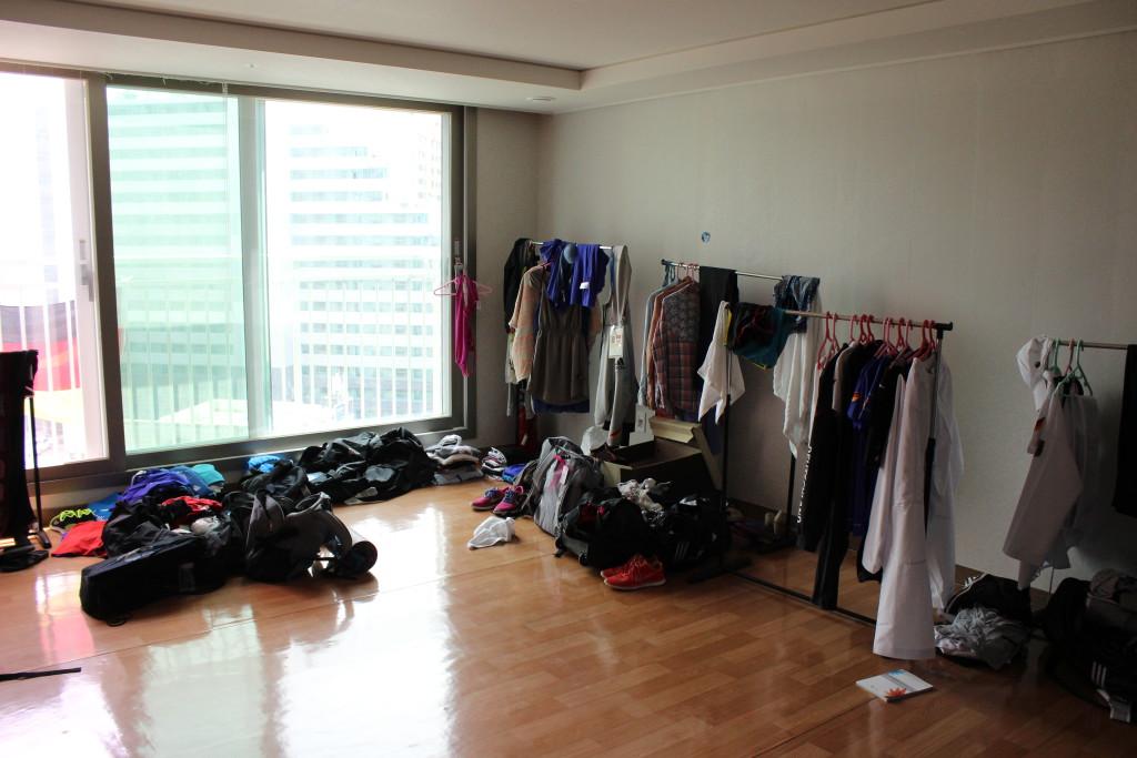 Unser Wohnzimmer in Wohnung 1103