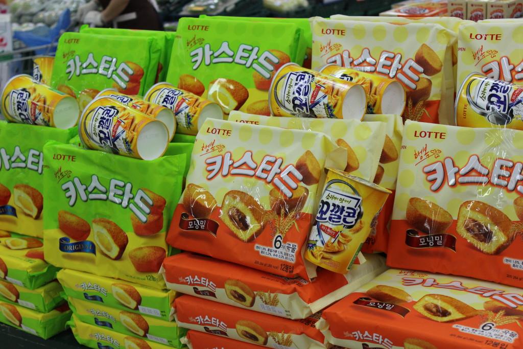 Koreanische Süßwaren
