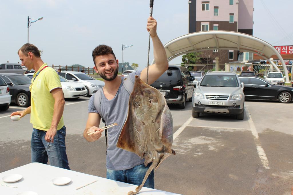 Triumf und der Fisch