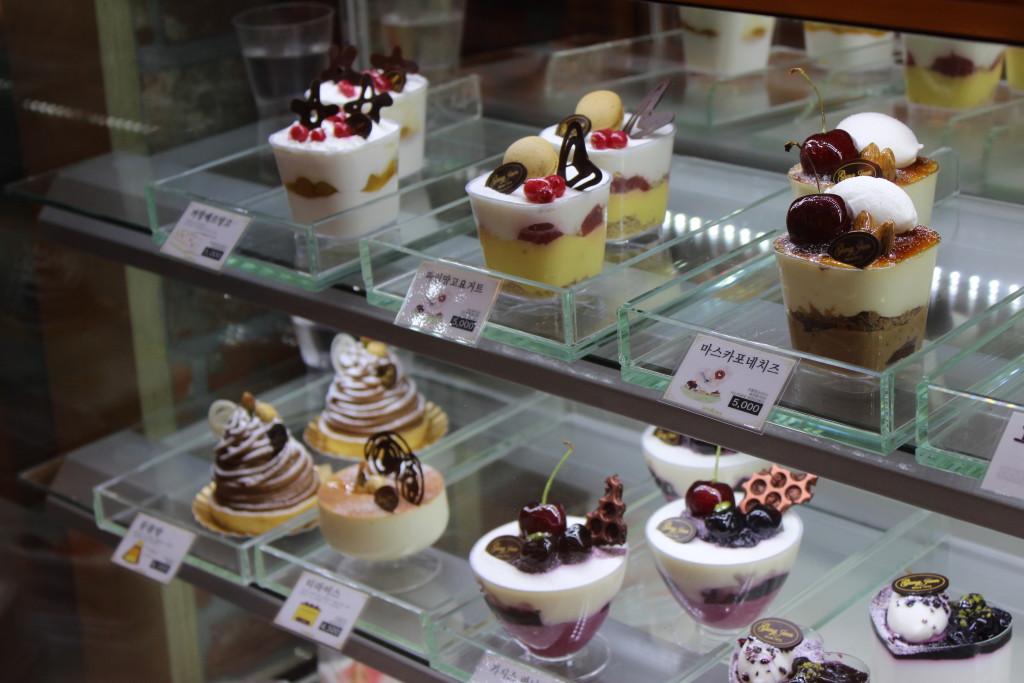 Törtchen in der Bäckerei
