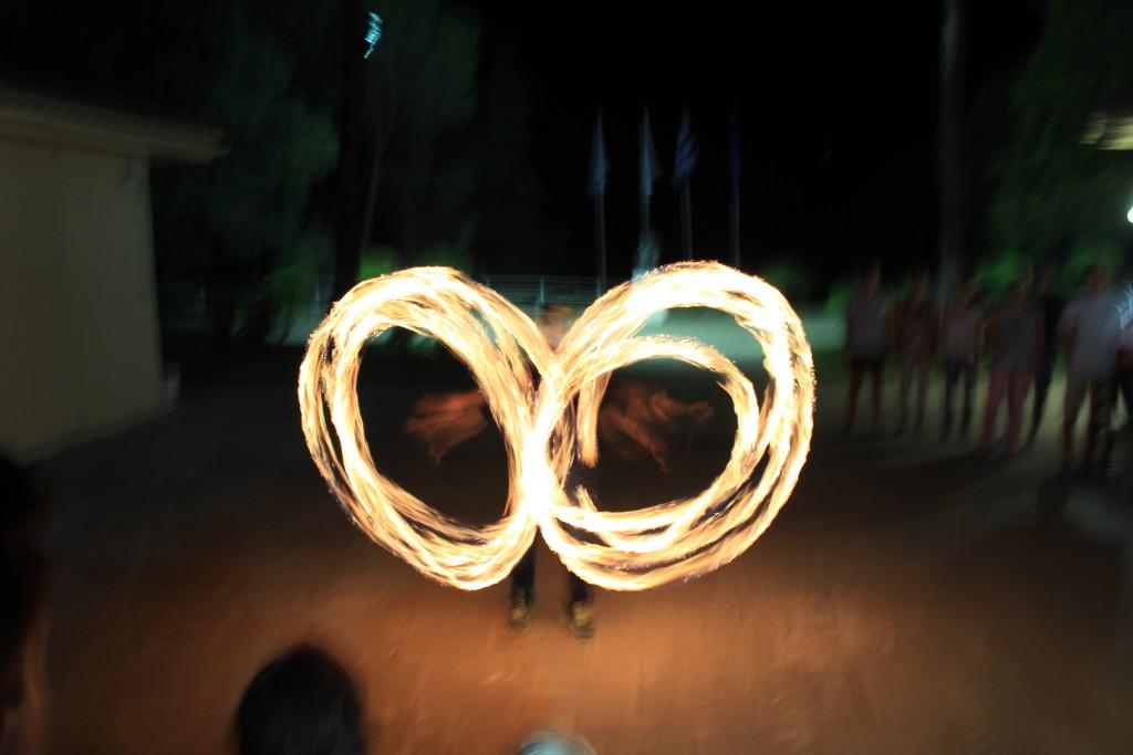 Feuershow der Uni Kaiserslautern