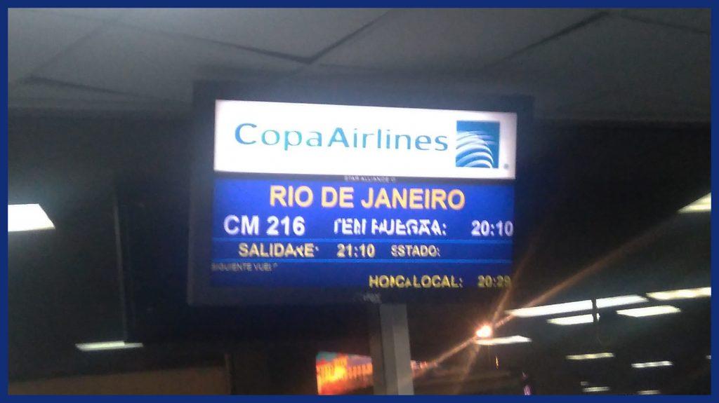 Es geht los nach Rio...