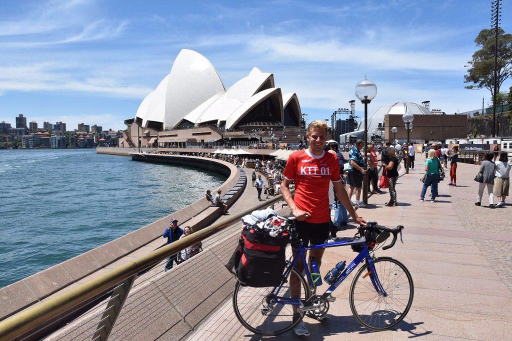 Endlich in Sydney